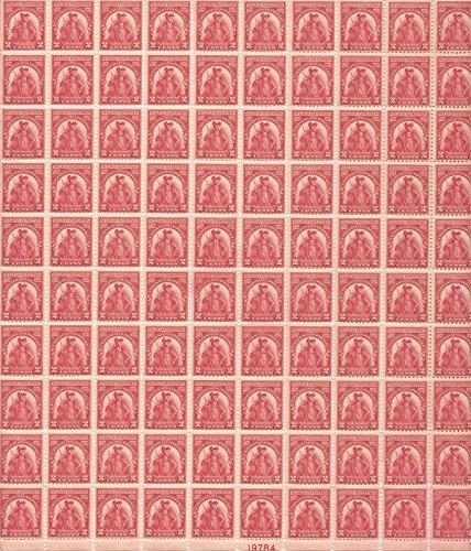 US Stamp - 1929 Sullivan Expedition - 100 Stamp Sheet - - Us 657