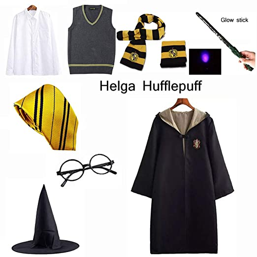 LISI Adultos Disfraz Cosplay Set (8 Piezas), Harry Potter ...