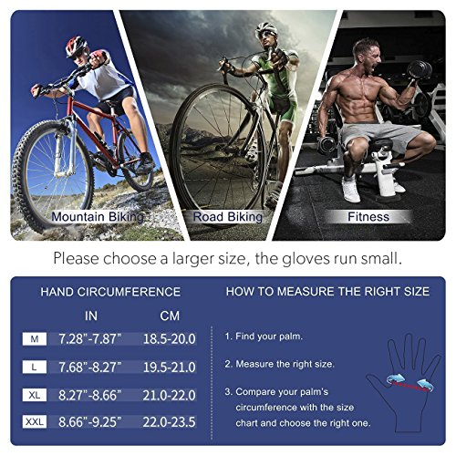 Cool Change Cycling Gloves Mountain Bike Gloves SBR Pad Shockproof | Anti- Slip | Breathable Biking Gloves Sports Half Finger Bicycle Gloves for Men Women For Sale