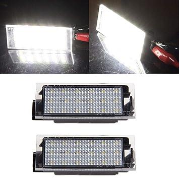 Für Renault Clio 2 Twingo LED Kennzeichen Beleuchtung Nummernschild Beleuchtung
