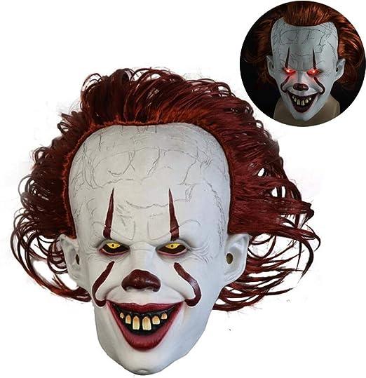 Bweele Máscara de Payaso de Halloween, Máscara de Terror de ...