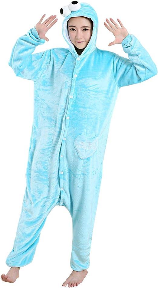 Yimidear Cosplay Pijamas, Unisexo Adulto Ropa de Dormir Traje de ...