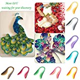 WEKA Paper Quilling Strip 3mm Gradient Color for