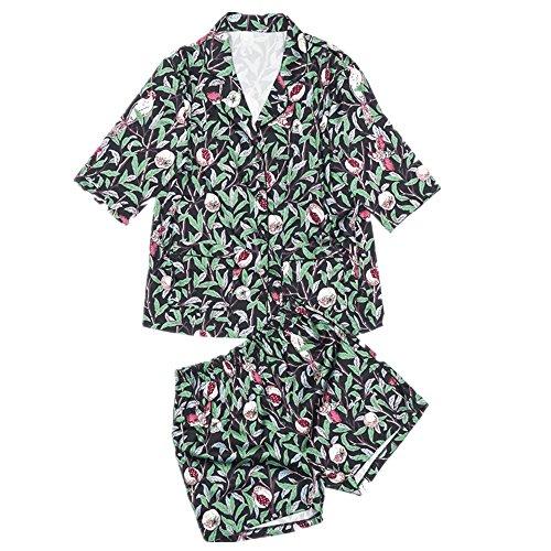 MY AGLAIA Damen Schlafanzug mehrfarbig mehrfarbig