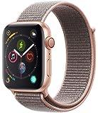 AppleWatch Series4(GPS+Cellularモデル)- 44mmゴールドアルミニウムケースとピンクサンドスポーツループMTVX2J/A