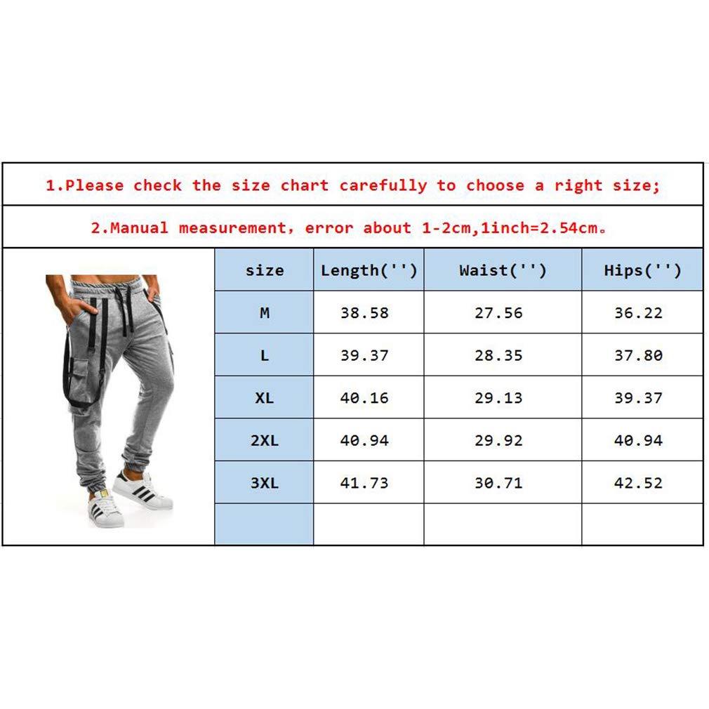 Deportivo Pantalones para Hombre Moda Fitness Jogging Running Pantal/ón Largos con Bolsillos C/ómodo Cintura El/ástica Casual Outdoor Pantalones Cinco Colores