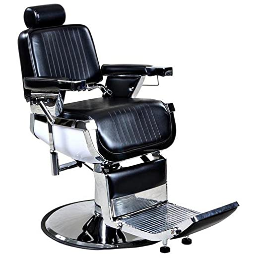 Truman Reclining Hair Salon Barber Chair - Vintage Barber Chairs - From Classical To Chic