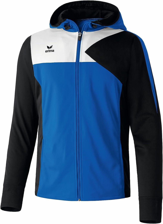 Erima Kinder Jacke Premium One Trainingsjacke mit Kapuze