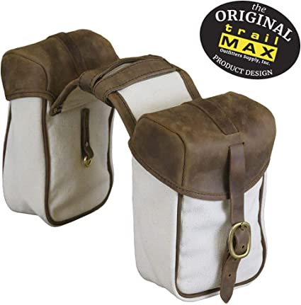 NEW Design Trailmax Canvas and Leather Canteen Water Carrier