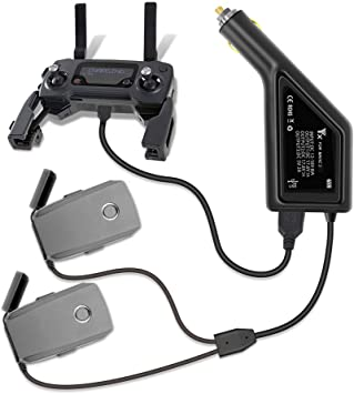 Tineer 3in1 Batterie Auto Ladegerät Mit Usb Port Fernbedienung Smartphone Und Tablet Ladegerät Für Dji Mavic 2 Pro Zoom Drone Zubehör Spielzeug