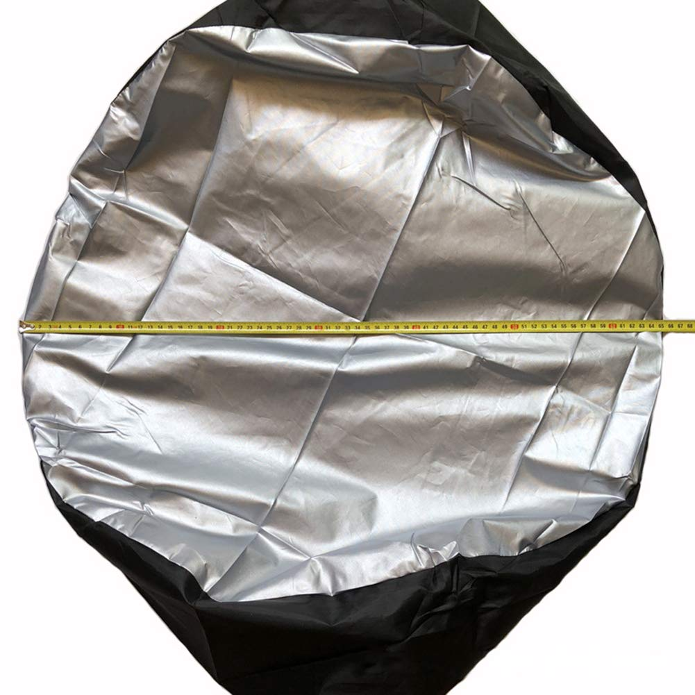 4 Fundas de Repuesto para neum/áticos de Coche 1 Pcs Tejido Oxford de Tela Oxford 210D para Invierno y Verano 65 * 37cm Tofree