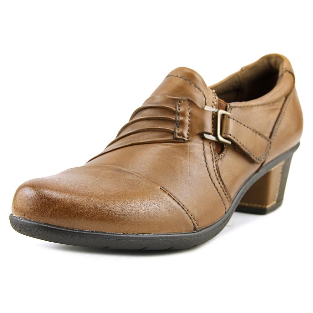 Earth Origins Womens Honor Closed Toe Casual Slide Sandals B005BBW5VU 6.5 M Almond