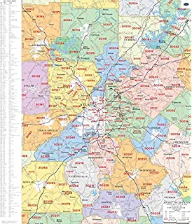 Amazon.com: Atlanta, GA ZIP Code Map Laminated: Home & Kitchen on map of ellijay ga area, stone mountain, gwinnett county, downtown atlanta, map of cities near atlanta ga, map of atlanta roads, college park, map of malls in atlanta, fulton county, map of atlanta georgia weather, sandy springs, map of georgia by zip code, map of atlanta and surrounding areas, map of greenville south carolina area, map of metro atlanta area, map of augusta ga and surrounding area, map of helen ga and surrounding area, population of metropolitan atlanta area, map of atlanta and suburban areas, dekalb county, mall of georgia, midtown atlanta, map of stone mountain area, map of clayton ga and surrounding area, map of hamilton ontario area, map of atlanta ga perimeter, map of atlanta suburbs, map of charlotte north carolina area, map metro atlanta ga, cobb county,