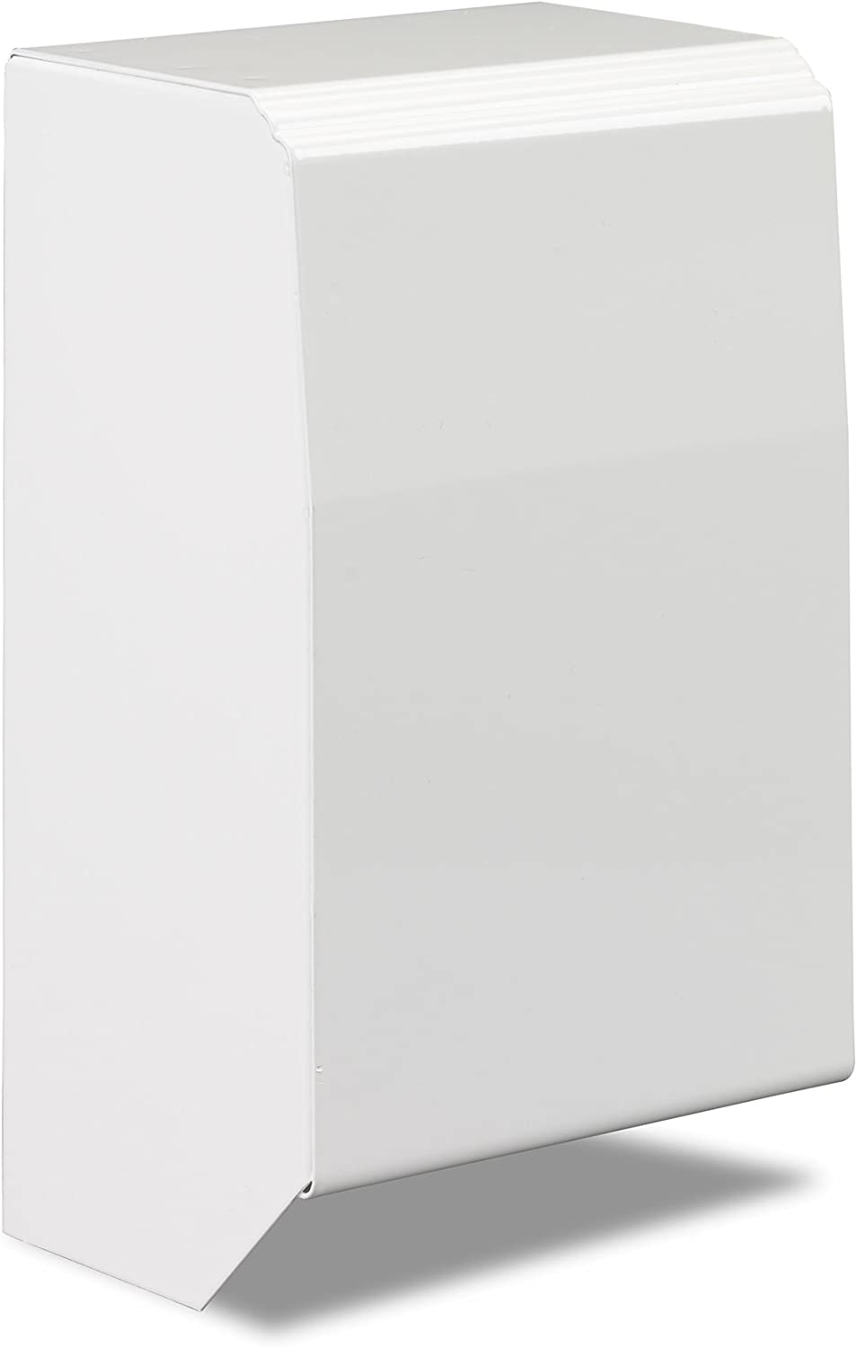 4 Inch End Cap Only for Slant/Fin Revital/Line Baseboard Heater Replacement Covers in Brite White