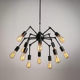 Henley araña Retro estilo de la Industria iluminación techo ...