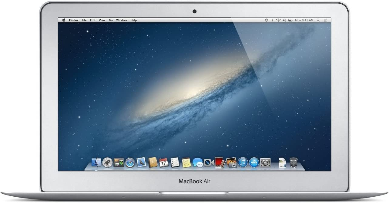 Apple MacBook, HD+ 1366 x 768 Laptop Air MD711LL/B, 4GB RAM, 128GB SSD, HD camera (Renewed)