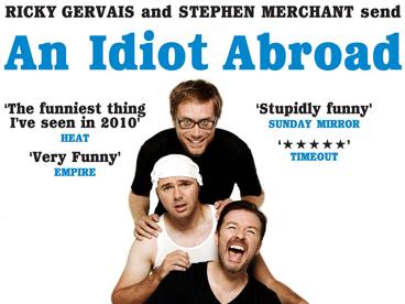 Karl Pilkington's An Idiot Abroad [DVD]: Amazon.co.uk: Karl Pilkington,  Ricky Gervais, Stephen Merchant, Krishnendu Majumdar: DVD & Blu-ray