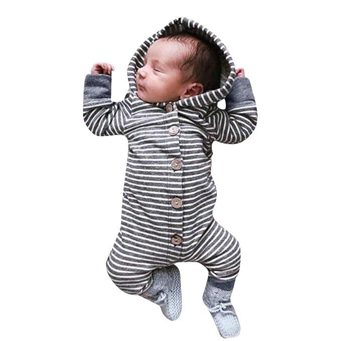 Mitlfuny Niños Niñas Monos de Manga Larga para Bebés ...