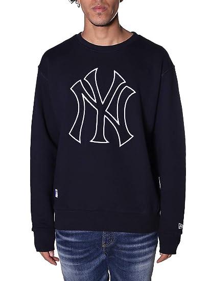 best service 0af83 e8f26 New Era Felpa NY Uomo M: Amazon.it: Abbigliamento