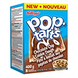 Kellogg's Pop Tarts Toaster Pastries, Chocolate Chip Cookie Dough 8 Pastries 400 Gram