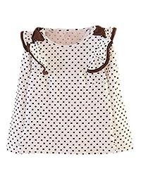 Pipi Little Girls Popular Polka Dot Bowknot Long Sleeve Shirts Top