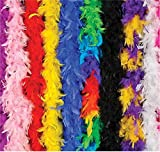 48piece 6' Feather Boa Assortment