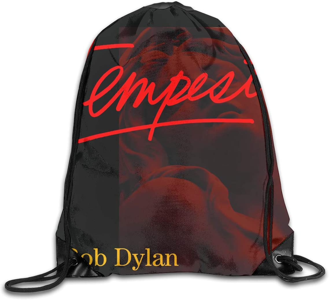 AlexisW Bob Dylan Tempest Backpack Gymsack Drawstring Bags Sport Bag for Men & Women 61YwvB0sxOL