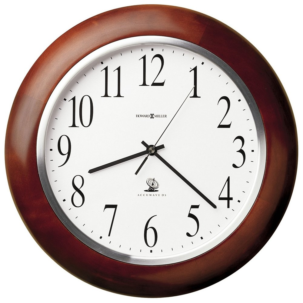 Amazon howard miller 625 259 murrow wall clock home kitchen amipublicfo Gallery