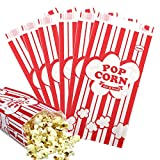 popcorn bags or boxes - Tomnk 100pcs Paper Popcorn Bags, 1oz