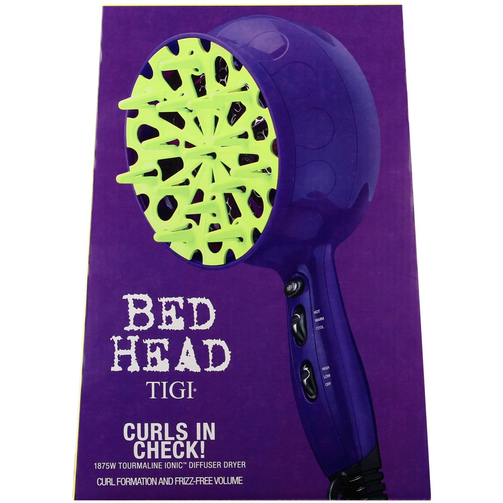 Bed Head Curls in Check 1875 Watt Diffuser Hair Dryer: Beauty