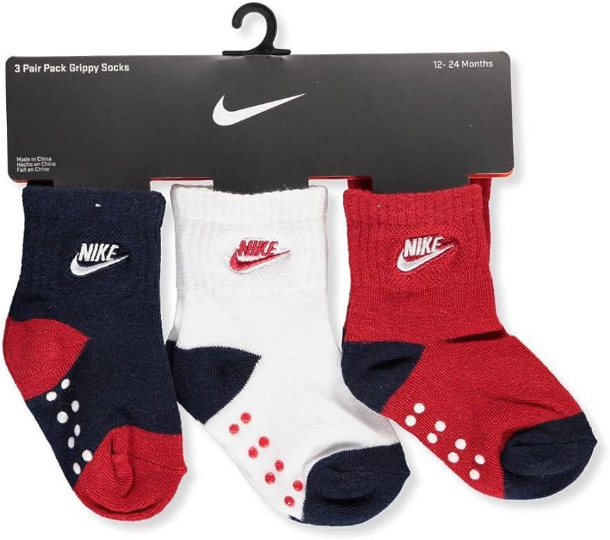 Nike Futura para niños (Paquete de 3 Calcetines, Navy/Red ...