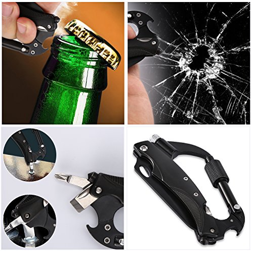 Hand Tool Sets Original 11 In 1 Multi-function Bottle Opener Edc Tool Card Creative Bottle Opener Keychain Portable Multi-purpose Gadget Tools To Produce An Effect Toward Clear Vision