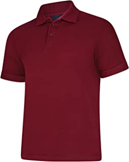 Mens Polo T-Shirts Maroon