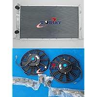 Radiador de aleación de aluminio + ventiladores