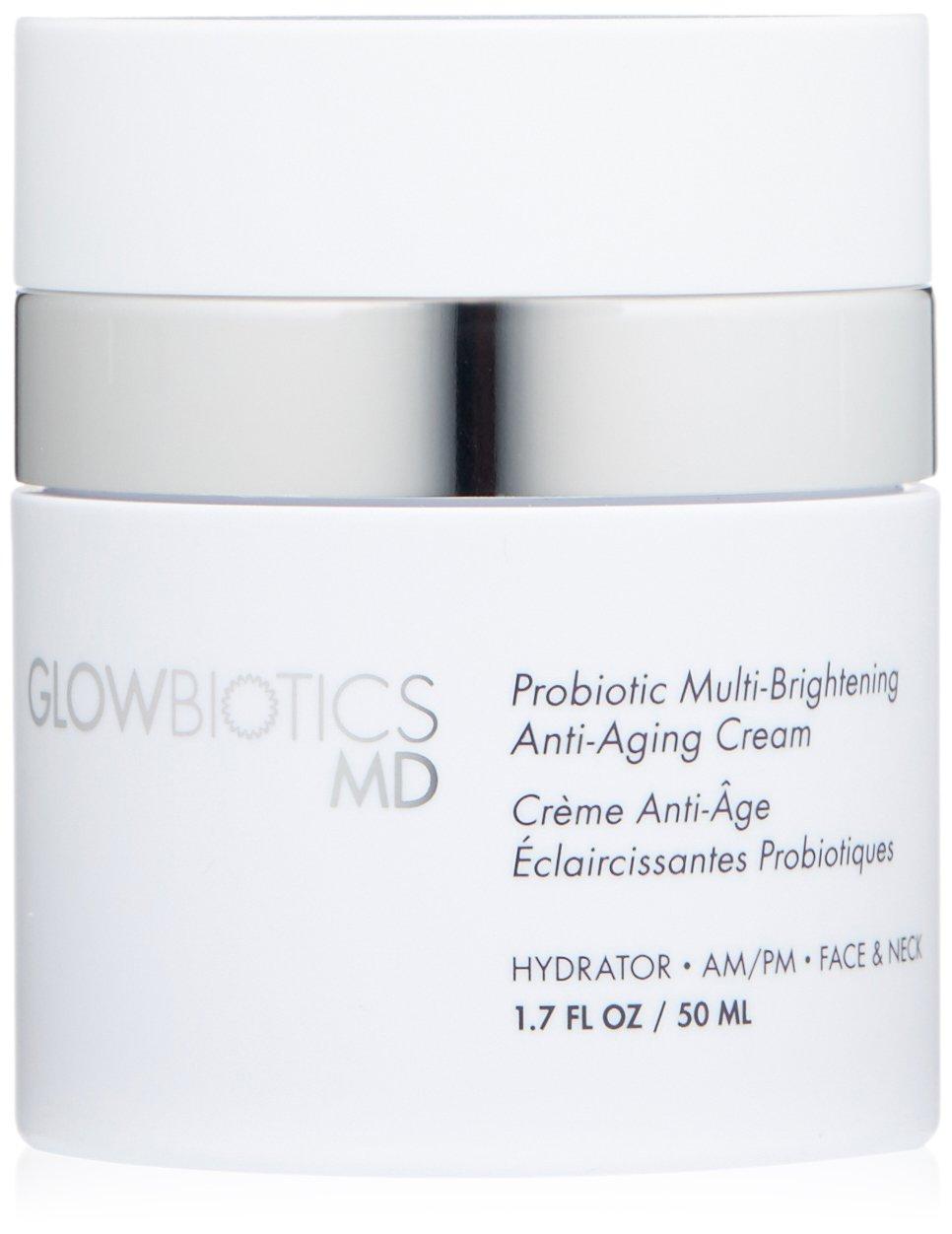 Glowbiotics MD Probiotic Multi,Brightening Anti-Aging Cream, 1.7 Fl Oz