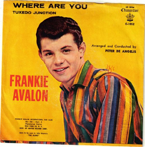 AVALON, Frankie / Where Are You / 45rpm record+ picture sleeve
