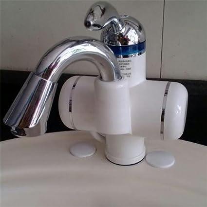 LIU-220V Calentador de agua caliente instantáneo sin tanque Calentador de agua eléctrico Cocina de