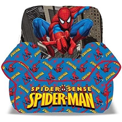 Amazon.com: Spiderman Puf Sofá, Silla: Toys & Games