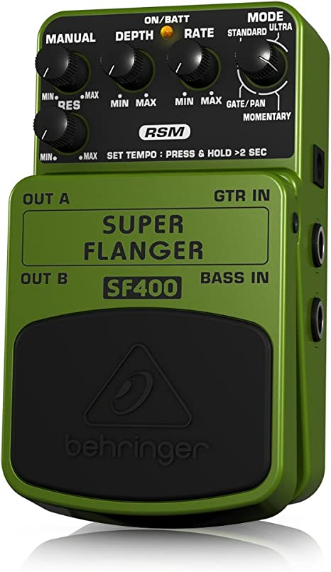 Behringer SF400 4033653053235 - Pedal de efecto flanger para ...