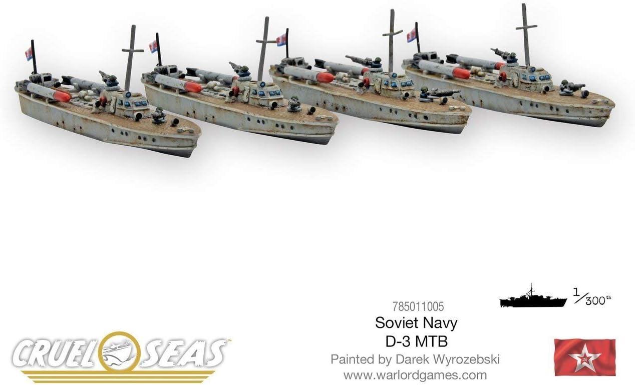 Soviet D-3 MTBs Warlord Games Cruel Seas
