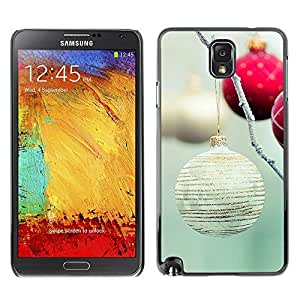 YOYO Slim PC / Aluminium Case Cover Armor Shell Portection //Christmas Holiday Decoration Balls 1100 //Samsung Note 3