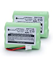 GEILIENERGY 3.6V 900mAh NI-MH Replacement Battery for Motorola MBP33 MBP36 MBP33S MBP36S MBP-33S MBP-36S MBP33BU MBP33P MBP35 MBP36PU MBP41 MBP43 MBP18 CB94-01A Baby Monitors(2-Pack)