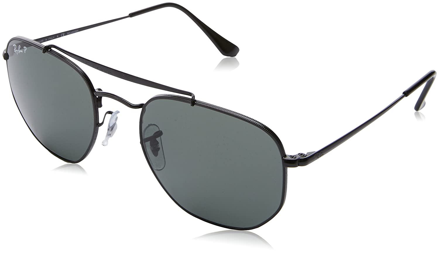 bf007dc9a6d7e Amazon.com  Ray-Ban Metal Unisex Sunglass Polarized Square