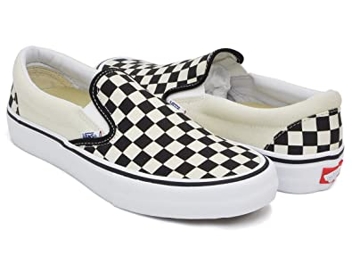 5b4106133 [バンズ] SLIP-ON PRO (CHECKERBOARD) BLACK/WHITE vn0a347vapk-fba