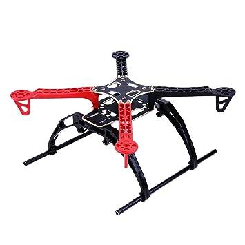 Cuadro Quadcopter, Kit de Cuadro Drone Racing Aircraft de 33 cm ...