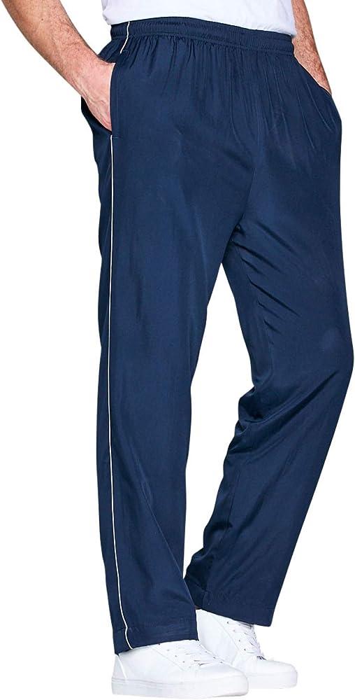 Pantalón De Chándal Farrado De Punto para Hombre Azul UK 52/EU 68 ...