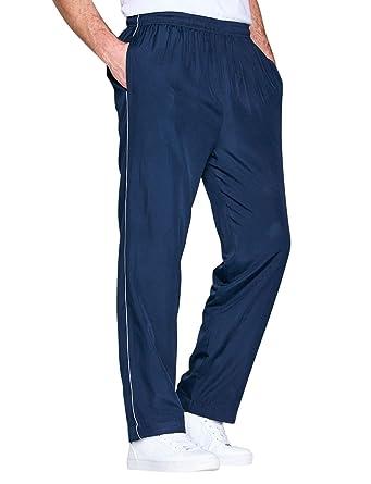 Pantalón De Chándal Farrado De Punto para Hombre Azul UK 48/EU 64 ...