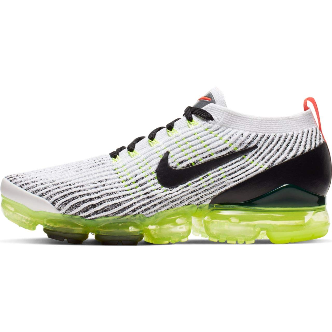 MultiCouleure (blanc noir Volt Bright Crimson 000) Nike Air Vapormax Flyknit 3, Chaussures d'Athlétisme Homme 40.5 EU