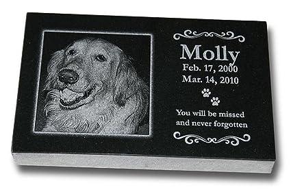Medium Standard Pet Grave Marker Pet Headstones Pet Gravestones Pet Memorials