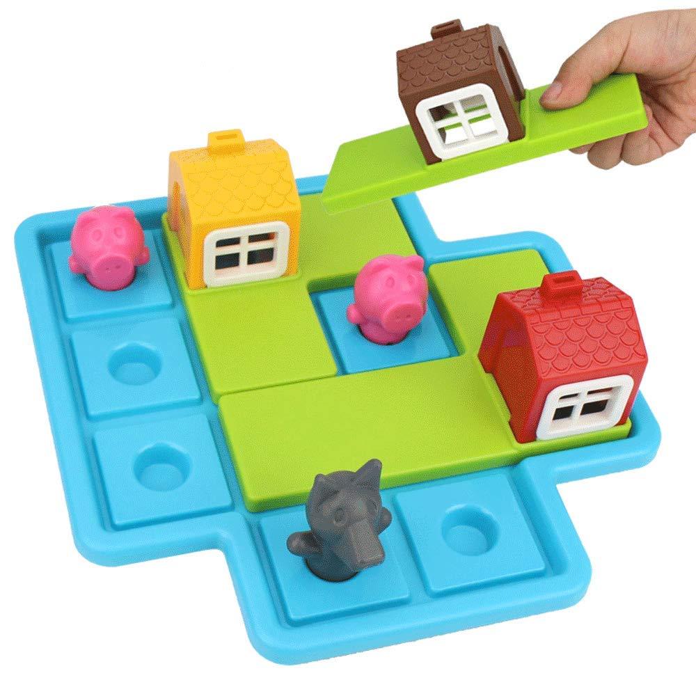 Kinder DREI Schweine Anime Pädagogische Spielzeug Dreidimensionale Zauber Kinder Logisches Denken Training Tisch Spiel Intelligenz Spielzeug